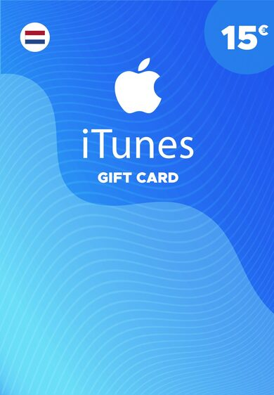 Apple iTunes Gift Card 15 EUR iTunes Key NETHERLANDS