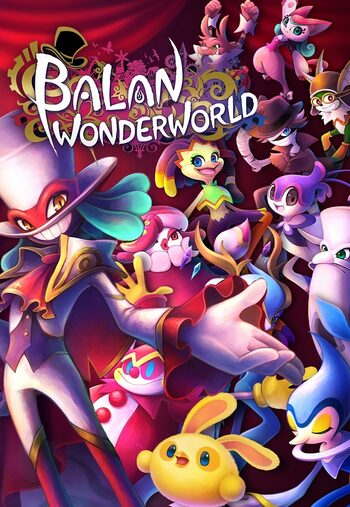 Balan Wonderworld Steam Key GLOBAL