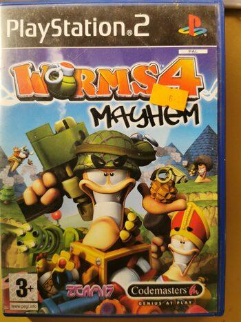 Worms 4: Mayhem PlayStation 2