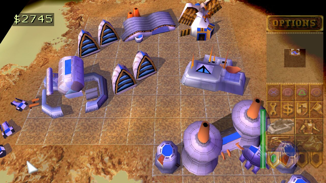 Dune 2000 PlayStation