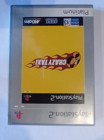 Crazy Taxi (1999) PlayStation 2