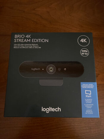 WEBCAM Brio 4K Stream Edition (LOGITECH) + Clé XSplit Premium
