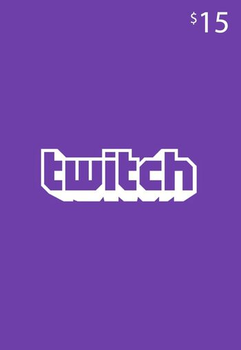 Twitch Gift Card 15 USD Key UNITED STATES