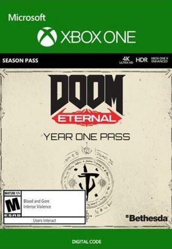 DOOM Eternal Year One Pass (DLC) (Xbox one) Xbox Live Key GLOBAL