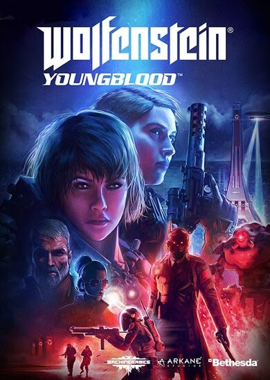 Wolfenstein: Youngblood (Uncut) Bethesda.net Key EUROPE