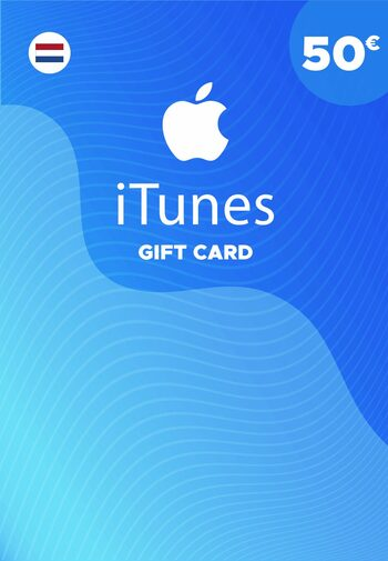 Apple iTunes Gift Card 50 EUR iTunes Key NETHERLANDS