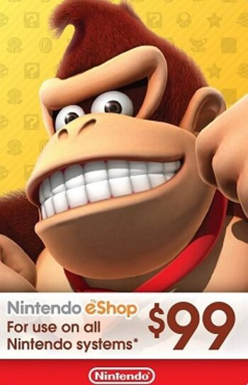 Nintendo eShop Card 99 USD Key NORTH AMERICA
