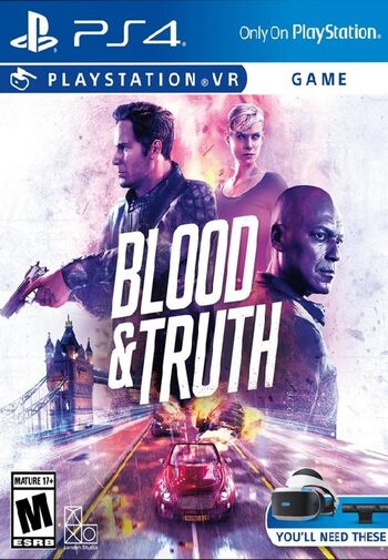 Blood & Truth [VR] (PS4) PSN Key EUROPE