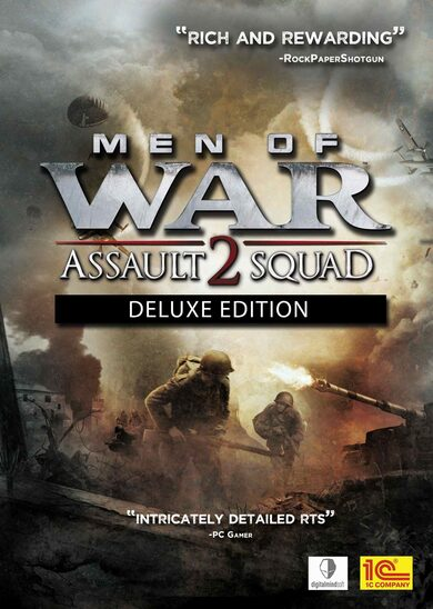 Men of War: Assault Squad 2 (Deluxe Edition) Steam Key GLOBAL