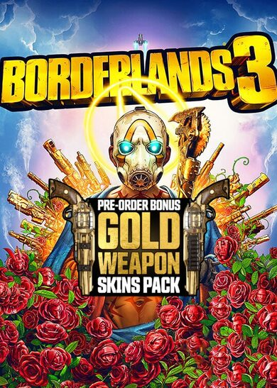 Borderlands 3 - Gold Weapon Skins Pack (DLC) Epic Games Key EUROPE