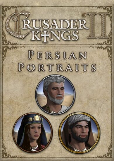 Crusader Kings II - Persian Portraits (DLC) Steam Key GLOBAL