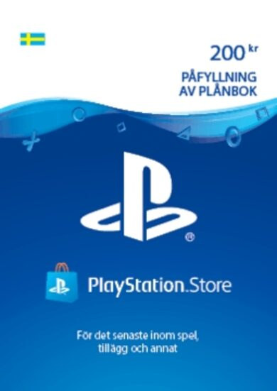 PlayStation Network Card 200 SEK (SE) PSN Key SWEDEN