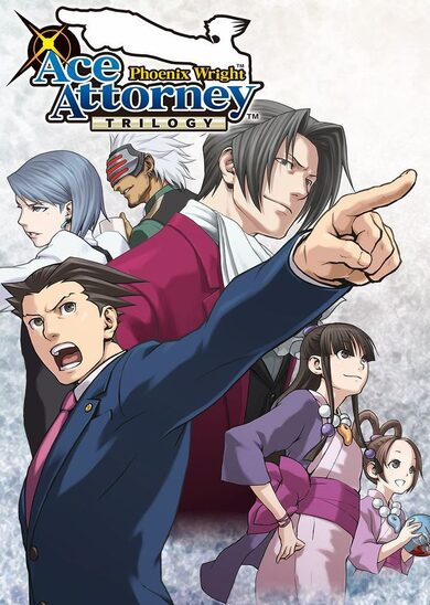 Phoenix Wright: Ace Attorney Trilogy Steam Key GLOBAL