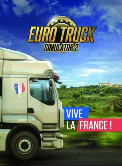 Euro Truck Simulator 2 - Vive la France! (DLC) Steam Key GLOBAL