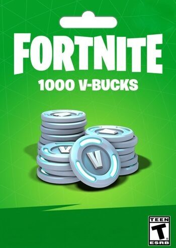 Fortnite - 1000 V-Bucks Gift Card Key EUROPE