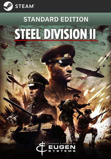 Steel Division 2 Clave Steam GLOBAL