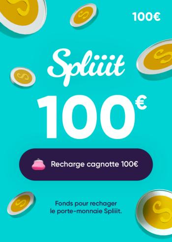 Spliiit 100 EUR Gift Card Key FRANCE