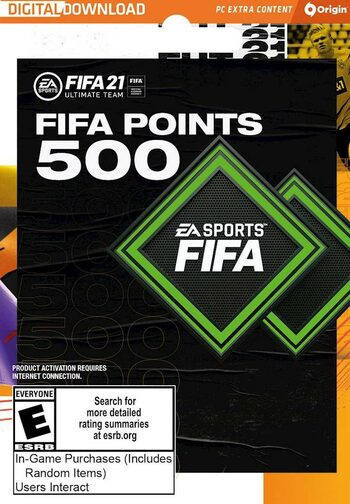 FIFA 21 - 500 FUT Points Origin Key GLOBAL
