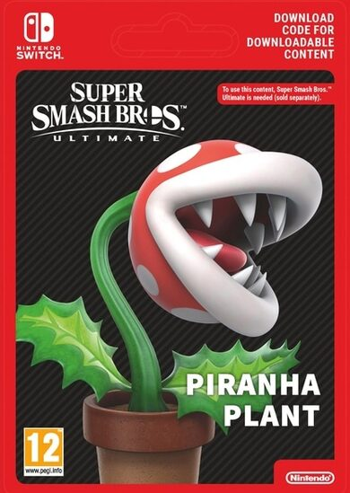 Super Smash Bros. Ultimate - Piranha Plant (DLC) (Nintendo Switch) eShop Key EUROPE