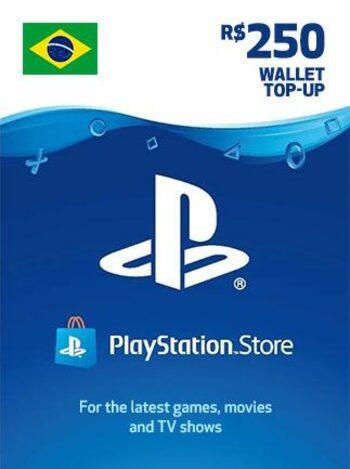 PlayStation Network Card 250 BRL (BR) PSN Key BRAZIL