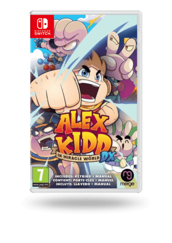 Alex Kidd in Miracle World Nintendo Switch