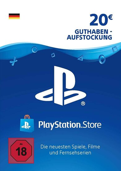 Playstation Network Card 20 EUR (DE) PSN Key GERMANY