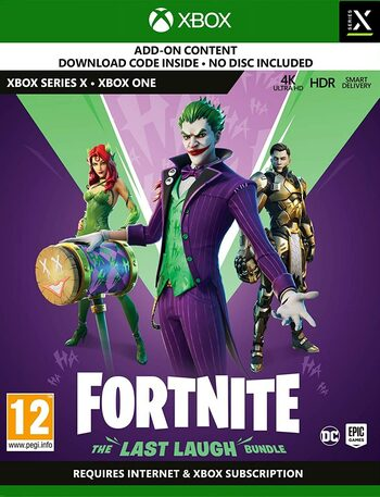 Fortnite: The Last Laugh Bundle + 1000 V-Bucks (XBOX) Xbox Live Key UNITED STATES