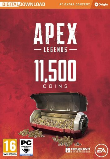 Apex Legends 11500 Monedas Apex Origin Key GLOBAL