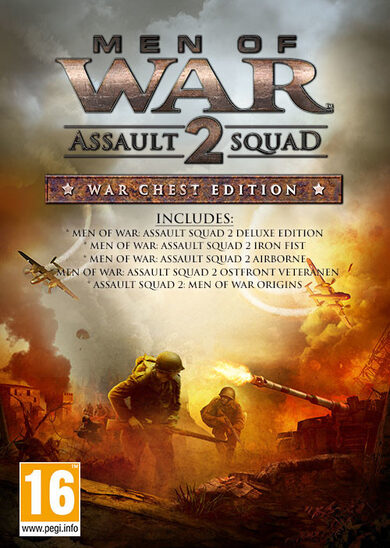 1C Entertainment / Men of War: Assault Squad 2 (War Chest Edition) Steam Key GLOBAL