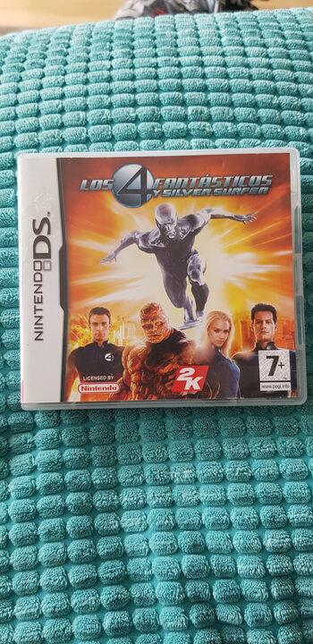 Fantastic Four: Rise of the Silver Surfer (Los 4 Fantásticos Y Silver Surfer) Nintendo DS