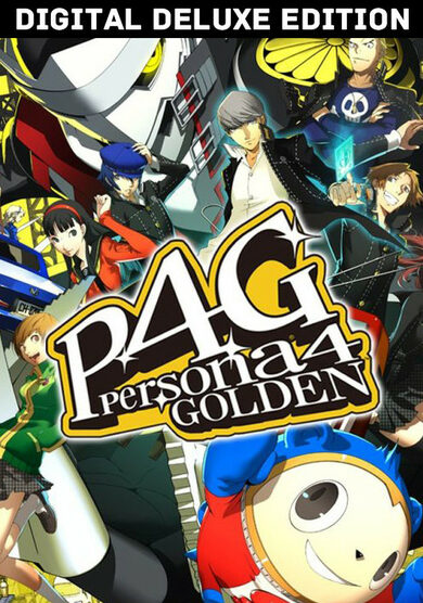 Persona 4 Golden - Deluxe Edition Steam Key GLOBAL