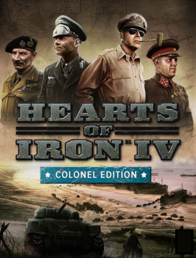 Hearts of Iron IV (Colonel Edition) Uncut Steam Key GLOBAL