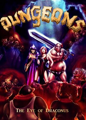 Dungeons: The Eye of Draconus Steam Key GLOBAL