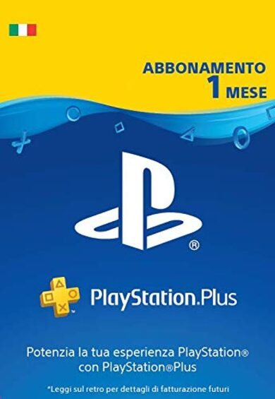 PlayStation Plus Card 30 Days (IT) PSN Key ITALY