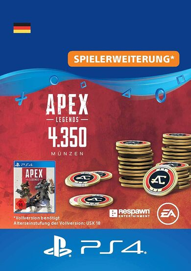 Apex Legends 4350 Apex Coins (PS4) PSN Key GERMANY