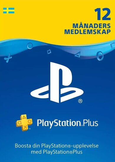 PlayStation Plus Card 365 Days (SE) PSN Key SWEDEN