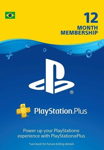 PlayStation Plus Card 365 Days (BR) PSN Key BRAZIL