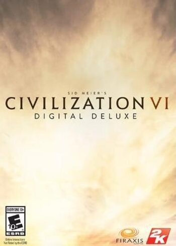 Sid Meier's Civilization VI - Digital Deluxe Edition Steam Key EUROPE