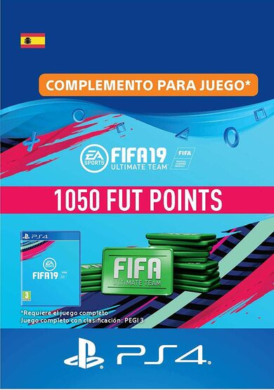 FIFA 19 - 1050 FUT Points (PS4) PSN Key SPAIN