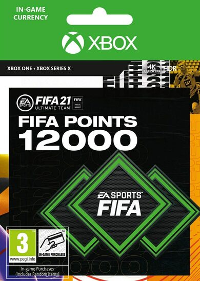 FIFA 21 - 12000 FUT Points (Xbox One) Xbox Live código Global