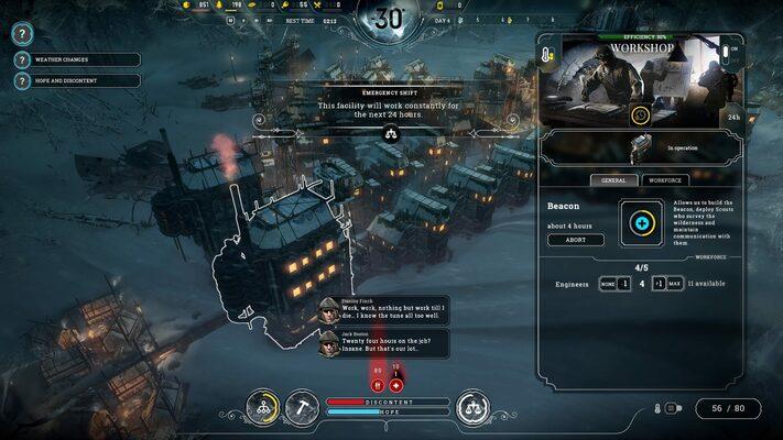 Frostpunk Steam Key GLOBAL