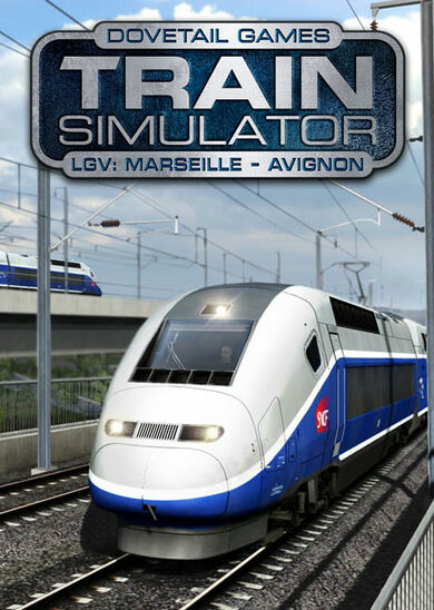 Train Simulator - LGV: Marseille - Avignon Route Add-On (DLC) Steam Key EUROPE
