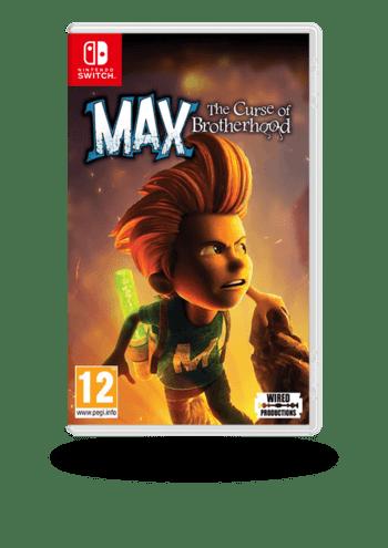 Max: The Curse of Brotherhood __GAME_PLATFORM__ CD Nintendo Switch