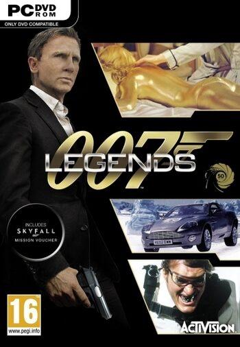 007 Legends + Skyfall (DLC) Steam Key GLOBAL