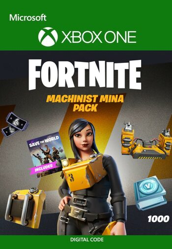 Fortnite - Machinist Mina Pack + 1000 V-Bucks Challenge XBOX LIVE Key UNITED STATES