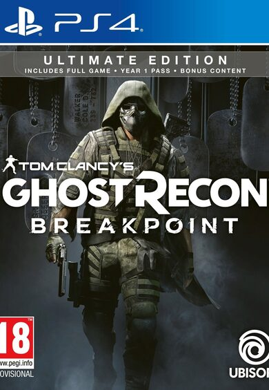 Tom Clancy's Ghost Recon: Breakpoint (Ultimate Edition)  (PS4) PSN Key NORTH AMERICA