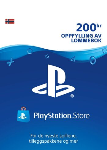 Playstation Network Card  200 NOK (NO) PSN Key NORWAY