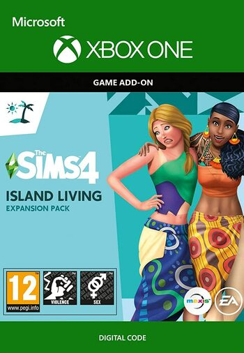 The Sims 4: Island Living (Xbox One) (DLC) Xbox Live Key  GLOBAL