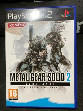 Metal Gear Solid 2: Substance PlayStation 2