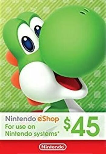 Nintendo eShop Card 45 CAD Key CANADA